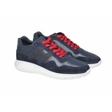 SNEAKER BUMPERZOOL DONKERBLAUW RODE VETER